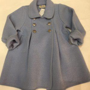 Abrigo de lana austríaca para niña
