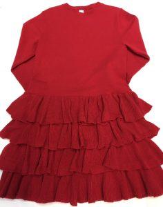 Vestido punto rojo, Le Chic
