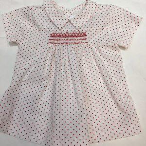 Camisa de bebé artesanal
