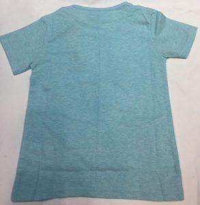 Camiseta azul con lentejuelas, Chipie