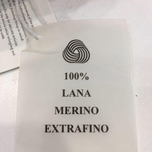 Abrigo de lana de merino, 100% extrafino. Rosa empolvado