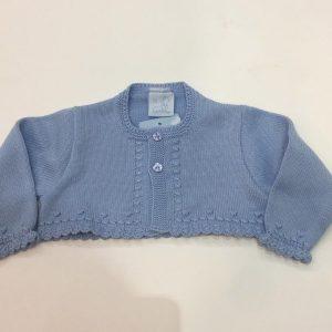 Bolero Granlei para bebé y niña, azul