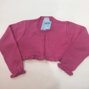 Bolero Granlei para bebé y niña, rosa fucsia