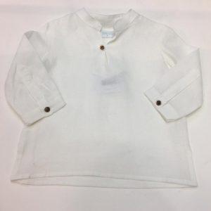 Camisa de lino para niño