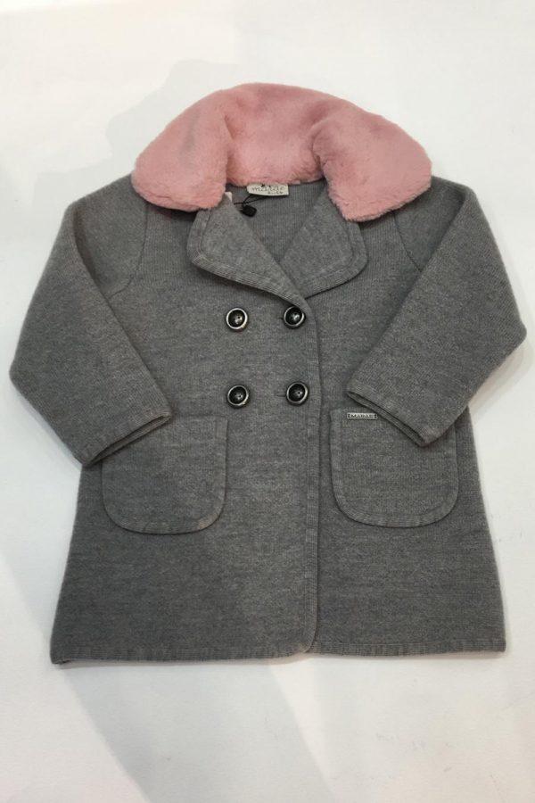 Abrigo gris Marae