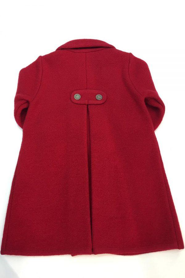 Abrigo rojo Marae
