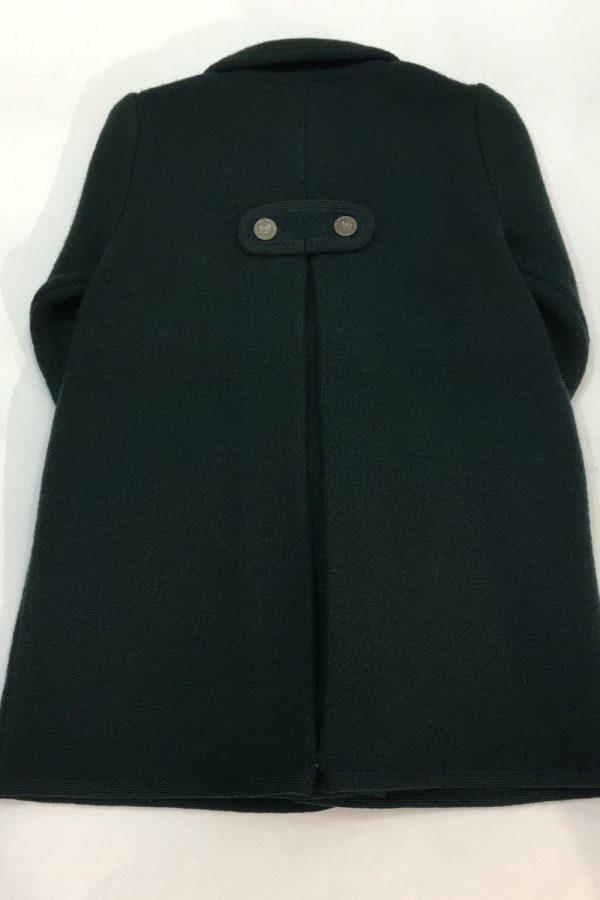 Abrigo verde botella Marae