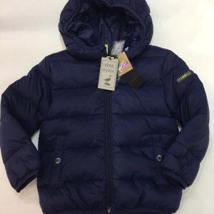 Abrigo plumífero iDO con capucha