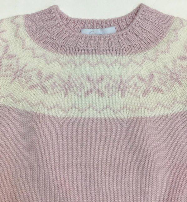 Jersey de greca rosa