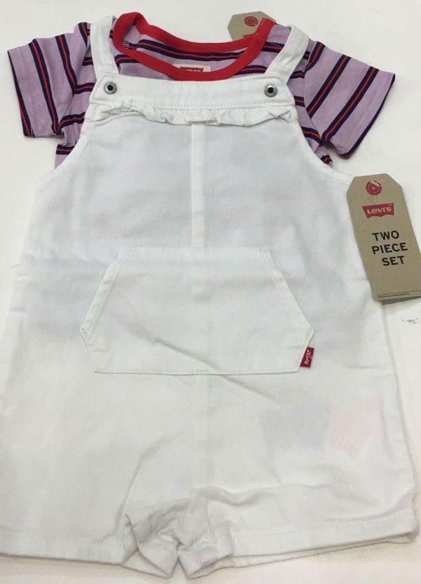 Conjunto de camiseta y peto